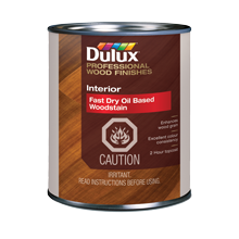 Dulux Interior Fast-Dry, Oil-Based WoodStain