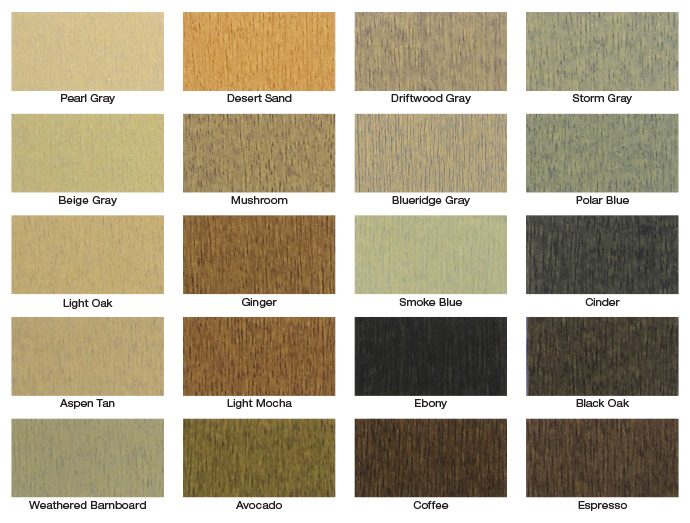 Dulux Semi Transpa Stain Colours, Outdoor Wood Stain Colors