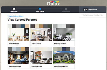 Dulux Paint Colour Visualizer