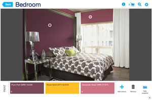 dulux paint a room