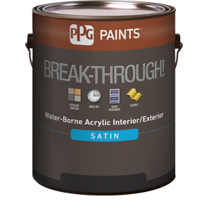 PPG Paints Break-Through!