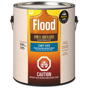 Flood CWF-UV5 Premium Clear Wood Finish