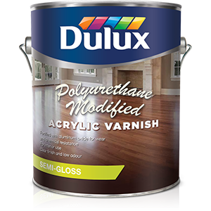 dulux modified acrylic varnish