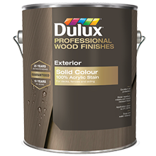 Dulux Solid 100% Acrylic Stain