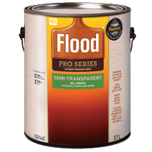 Flood Semi-Transparent Oil Finish