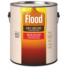 Flood Pro Series Solid Stain