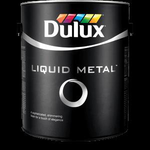 Metallic Silver Emulsion Paint