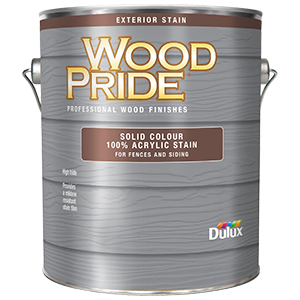 Dulux Woodpride Solid Siding Stain