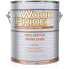 Acrylic Solid Siding Stain